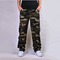 Cotton multi-pocket outdoor overalls large size men's trousers Khaki camouflage 42