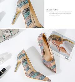 New high heels for spring 2019 orange 38