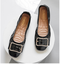 New spring 2019 egg roll shoes with soft sole women's pumps black 34