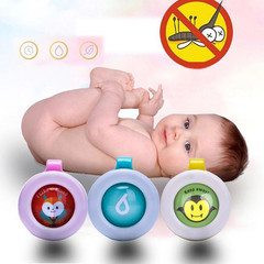 Mosquito Repellent Button Safe for Infants Baby Kids Buckle Indoor Outdoor Anti-mosquito Random Ship Random Delivery 4*3.5CM