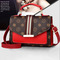 2019 Promotion Activities,  Limited Time Purchase , Fashion Lady Red Messenger Bag PU Shoulder Bag Red 20x15*8cm