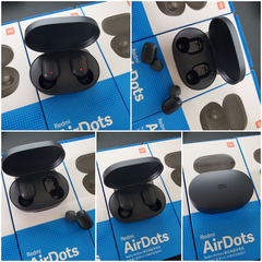 In stock Xiaomi Redmi Airdots TWS Bluetooth Earphone black