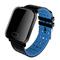 CNATONS A6 Smart Watch Heart Rate Monitor Sport Fitness Tracker Blood Pressure Waterproof Smartwatch Blue One Size