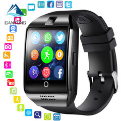 CANTONS With Camera Bluetooth Smartwatch SIM TF Card Slot Fitness Activity Tracker Watch For Android Black One Size