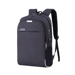 bag bags bag pack bagpack bags men bag for men bgas for men backpack USB Charged Laptop Backpack black 14.6