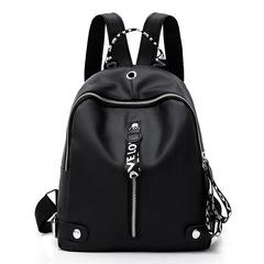 Bags female bag Backpack knapsack the single shoulder bag Large capacity Multifunction lady bags black 1