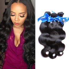 Synthetic Wigs New Fashion Hair Wigs Women Wigs   Curly hair Straight cylinder 20inch black black 16