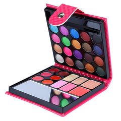 32 color Eye shadow disc Earth color eye shadow Pearl light Matte Multi-function combination pink