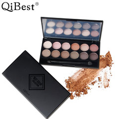 Eye shadow 4 colour Eye shadow disc nude look  Beginner repair Rong disc Cosmetics Eye shadow 1 5