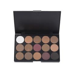 15 colour Eye shadow disc Earth color Pearl light Eye shadow disc High chroma Full and soft 1