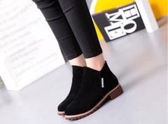 Women's Shoes Women Ankle Boots Short Martin Boots/ Heels Boots brown 39 black 35