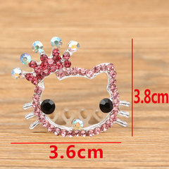 1Pcs Lovely Cute Girls Crown Princess Hair Clip Shiny Star Headband Hairpins Hair Band Accessories 1