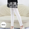 Summer Leggings For Girls Candy Colors Kids Slim Skinny Pants 1-12 Yrs Dancing Leggings white 160