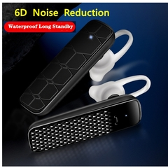 Headphones new long standby 4.2 waterproof 6D lossless noise reduction Bluetooth headset 928 black