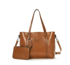 Leather bag style ladies shoulder bag diagonal bag fashion wild women bag brown a