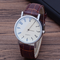 Hot Style Men's Man business watch man quartz watch man watch glass Luxury belt SO fashion B4 A