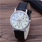 Hot Style Men's Man business watch man quartz watch man watch glass Luxury belt SO fashion A1 A