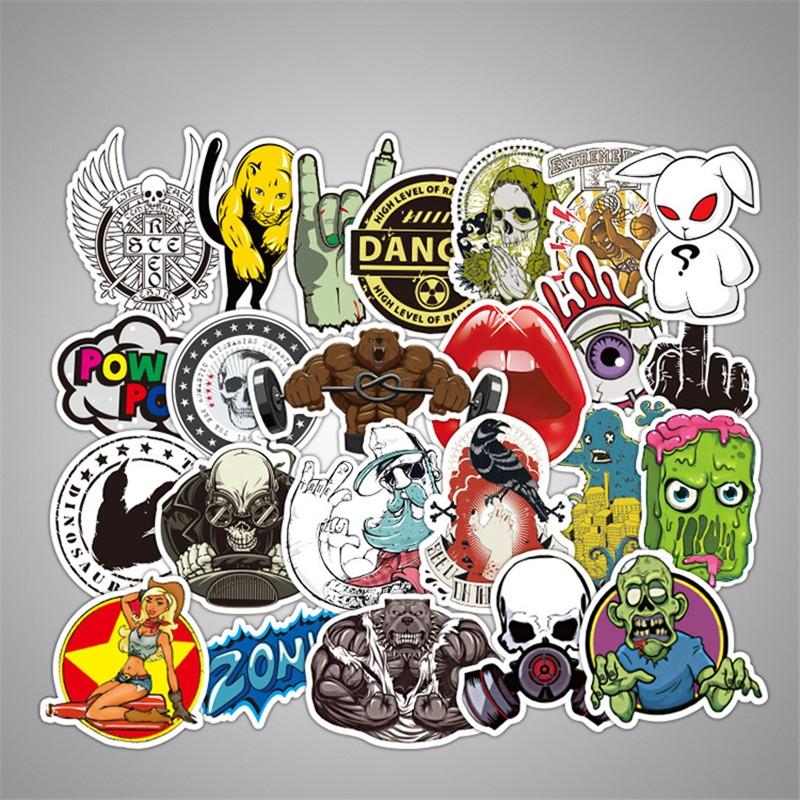 50PCS Style Graffiti Stickers DIY Luggage Laptop Skateboard Car Motorcycle Bicycle Stickers 50pcs/set 3