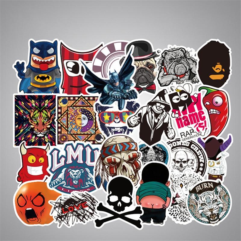 50PCS Style Graffiti Stickers DIY Luggage Laptop Skateboard Car Motorcycle Bicycle Stickers 50pcs/set 4