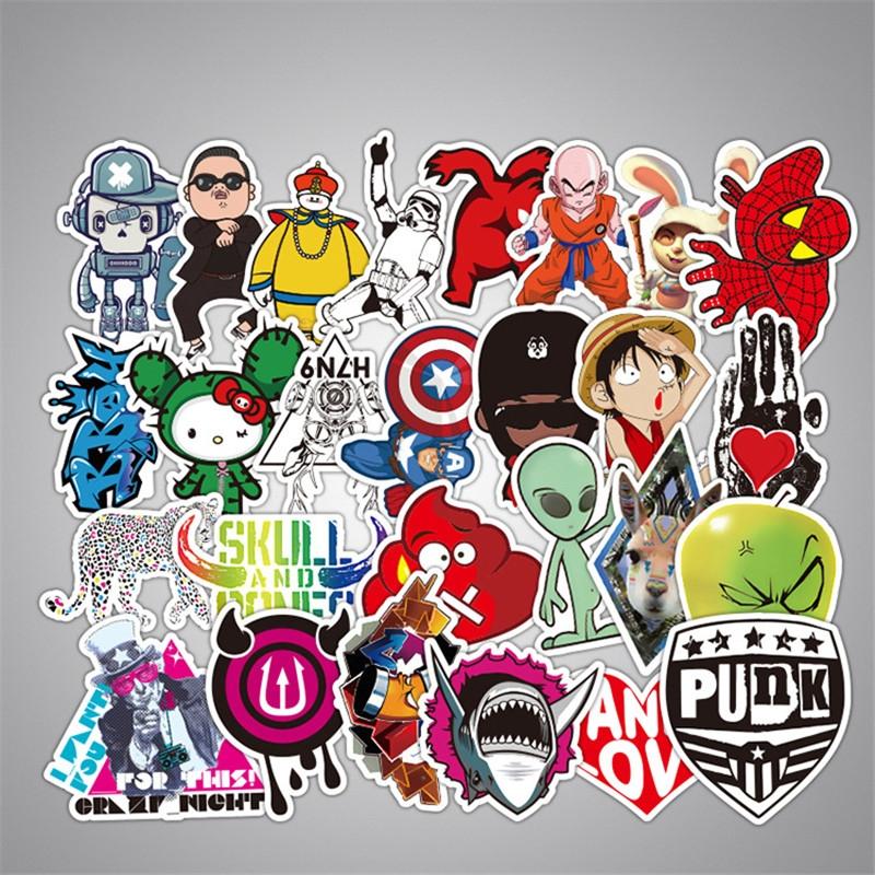 50PCS Style Graffiti Stickers DIY Luggage Laptop Skateboard Car Motorcycle Bicycle Stickers 50pcs/set 5