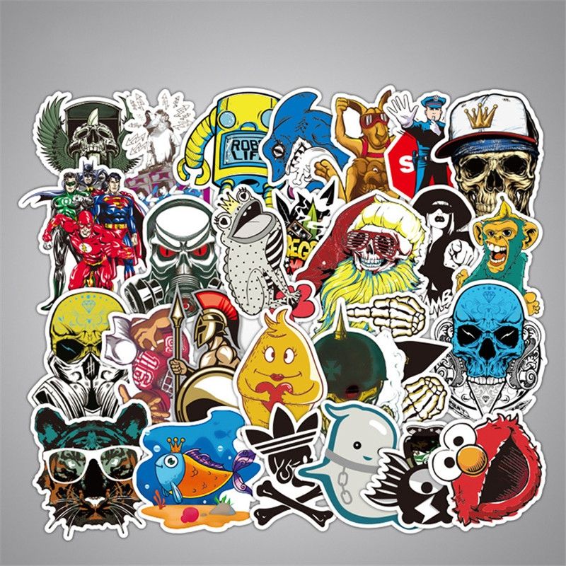 50PCS Style Graffiti Stickers DIY Luggage Laptop Skateboard Car Motorcycle Bicycle Stickers 50pcs/set 11