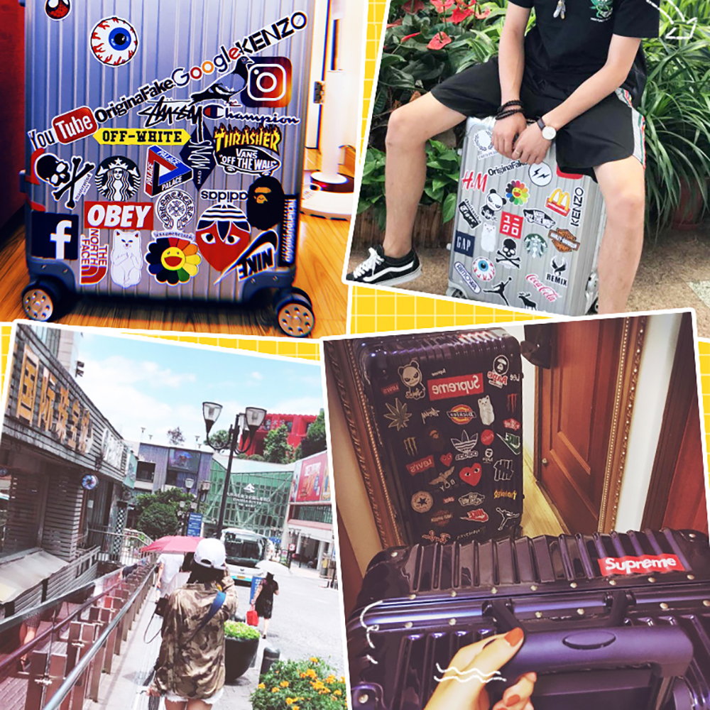 50PCS Style Graffiti Stickers DIY Luggage Laptop Skateboard Car Motorcycle Bicycle Stickers 50pcs/set 17