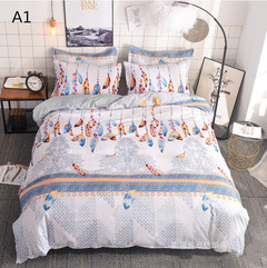 Fashion quilt cover Home textile modern minimalist style bedding set of three A1 260x230