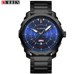 New Men's Steel Belt Watch Week Calendar Sports Style Watch Men's Watch Hot Sale a1 a
