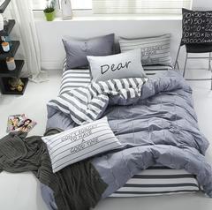 100% cotton satin bedding set comforter bedding set duvet cover bed sheet pillow Quilt cover a1 1.2m