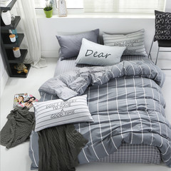100% cotton quilt 4Pcs Cover Bedding Set a1 1.2m