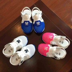 2019 Summer Boys Air Mesh Casual Shoes Children Baby Girl Beach Sandal Fashion Toddler Sport Sandals pink 21
