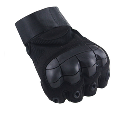 Men's Tactical Gloves Military Army Fingerless Gloves Outdoor Sports Anti-Slip Shooting Paintball black m
