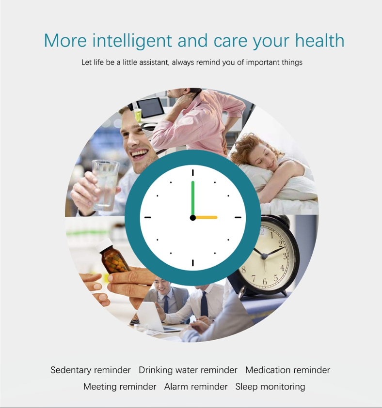 New L18 smart bracelet 1.3 color screen full metal heart rate blood pressure IP68 pedometer sleep silvery steel one 8