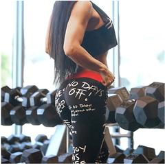 Women Digital Printing Leggings Workout Leggings Leggins Mujer Fitness Leggings Women'S Pants black s
