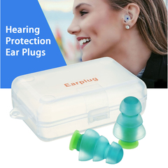 Noise Cancelling Hearing Protection Earplugs For Concerts Musician Motorcycles Reusable Silicone