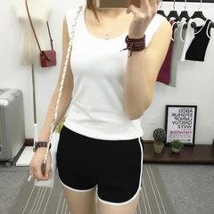 Hot 2019 new sports shorts summer sleep pants women casual yoga running fitness pants black one size
