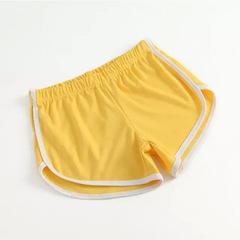 Hot 2019 new sports shorts summer sleep pants women casual yoga running fitness pants yellow one size