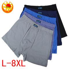 Promotion 3 Pack Hot Sale Men's Cotton Underwear Stretch Boxer Briefs Wear Random Colors 3 pcs random colors 3XL