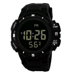 Luxury Men Watch Analog Digital Military Army Sport LED Wrist Watch montre  digital fitnes black one size