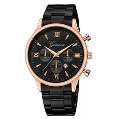 Men Watch Relogio Luxury Watch Fashion Stainless Steel Watch Date Men's Quartz Analog Wrist Watch A one size