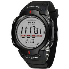 Men's electronic watch sports men's waterproof multi-function outdoor climbing watch large screen black one size