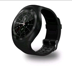 Newest Bluetooth Y1 Smart Watch Relogio Android SmartWatch Phone Call Camera SIM Black one size