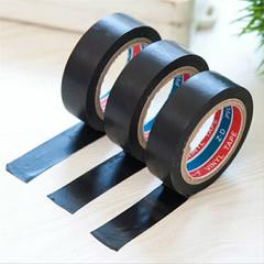 2 pcs Black Transformer Electric Wire Insulation Self Adhesive Tape Flame Retardant  Tape Electrical