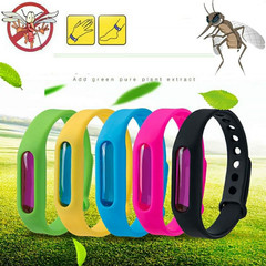 Mosquito Killer Silicone Wristband  Repellent Bracelet Anti Mosquito Band Children Insect Killer