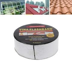 Aluminum Foil Butyl Rubber Tape Adhesive Sealing Best for RV Roof Marine Repair Black 50mm*5m*1.5mm