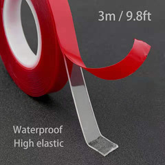 Transparent Silicone Double Sided Tape Sticker For Car High Strength High Strength Transparent 1cm*300cm