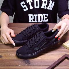 Shoes Women Sneakers White Canvas Shoes Lace Up Woman tenis Espadrilles ladies shoes Casual Shoes black 40