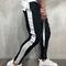 Trousers 2019 Fashion New Men Causal Sportswear Pants Black White Trendy Men's Hip Hop Sweatpants Black White L