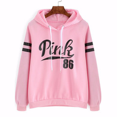 New Women's Clothes Casual wear for ladies Long sleeve Tops spot fleece C9009 pink l