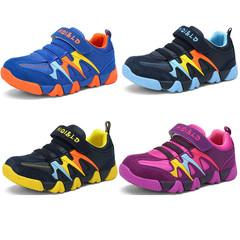 Kids Children Girls Boys Blue Black Purple Sneakers Sports Running Jogging Sneaker Sport Shoes navy blue 33